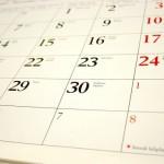 calendario AEM